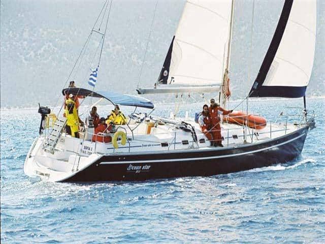 Ocean Star 51.1 on sailing!