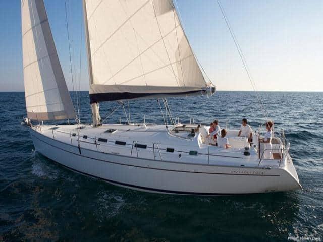 Beneteau Cyclades 50.5 on sailing!