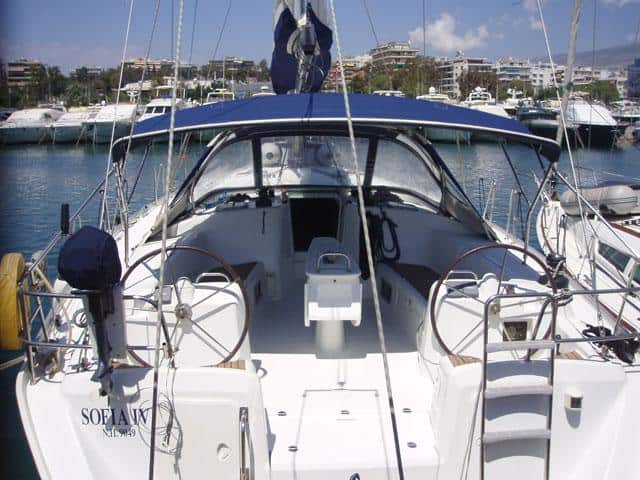 Beneteau Cyclades 50.5/ Extrerior side (real photo from Sofia IV)