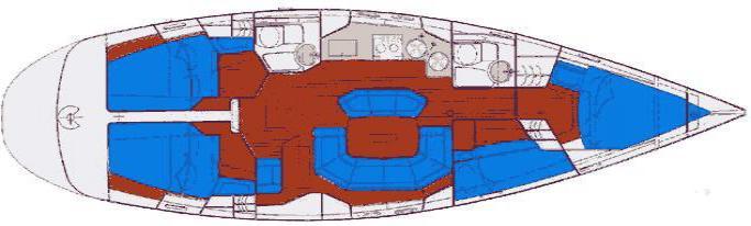 Bavaria 44/ layout