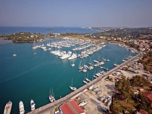 The marina is situated in the natural harbour of Gouvia bay, next to Kontokali village in Corfu Island. Gouvia marina is Galazio Sailing second charter base for the Ionian sailing area.