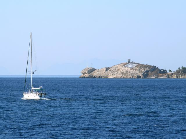 Sailing holidays in Kos island, Dodecanese sailing area.