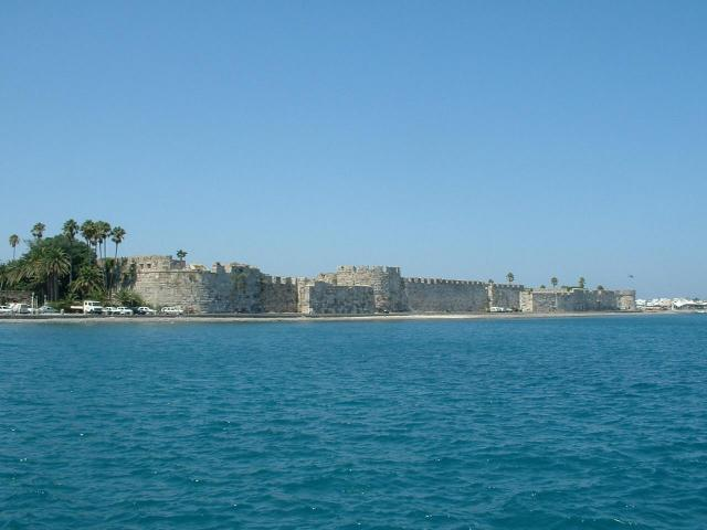 The famous castle in Kos island, Dodecanese.