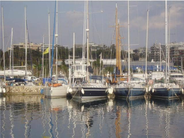 Most - Galazio Sailing - yachts are moored in pier Number 3 in Alimos (kalamaki) marina and the meeting point is directly onto the yacht.