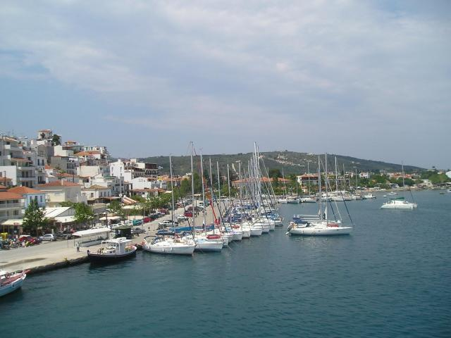 Skiathos charter base is situated at the North end of Skiathos' main port being the prime starting point for sailing holidays around the Northern Sporades – Aegean Sea.