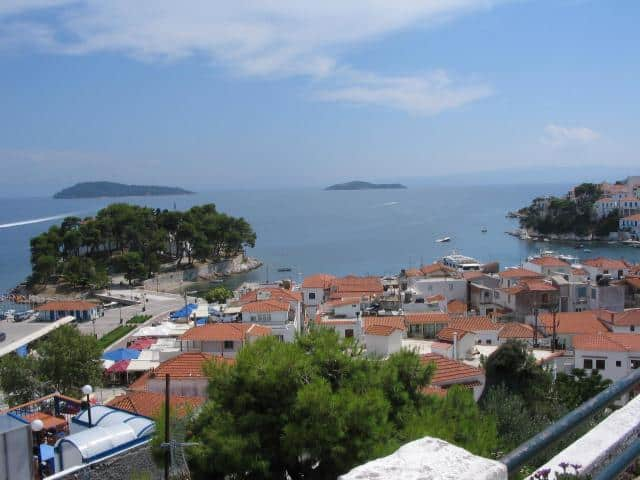 Located 2.5 NM East of the Peninsula of Magnesia in the Aegean Sea, Skiathos is the Westernmost island of the Northern Sporades area.