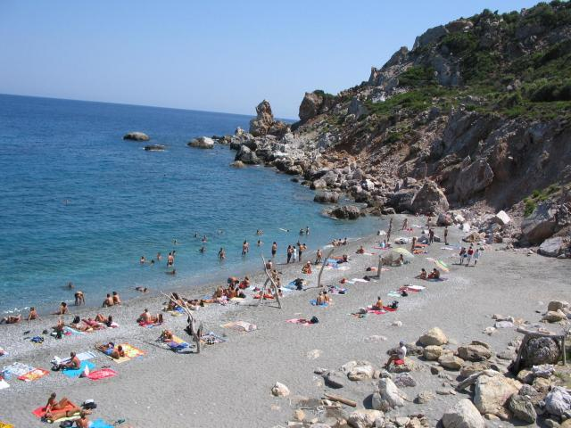 Skiathos island has some of the most stunning beaches and coves in Greece!