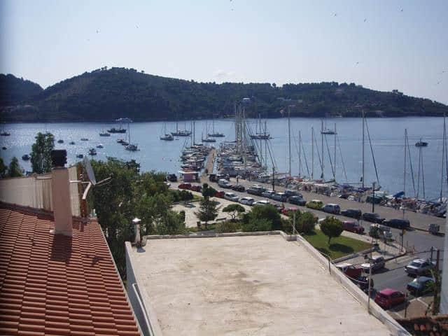 Skiathos port is the prime starting point for sailing holidays around Northern Sporades – Aegean Sea.