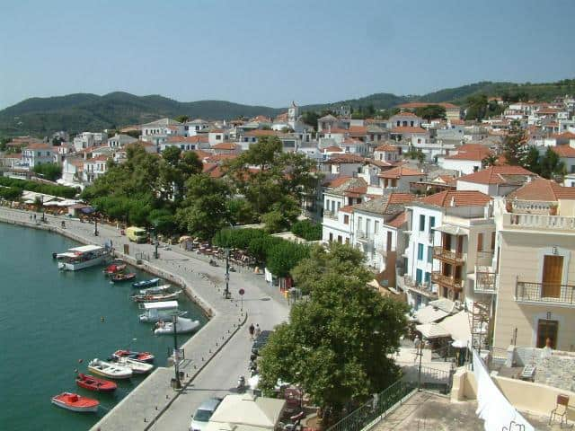 Skopelos is one of the Northern Sporades islands in the Northwest Aegean Sea, Greece.