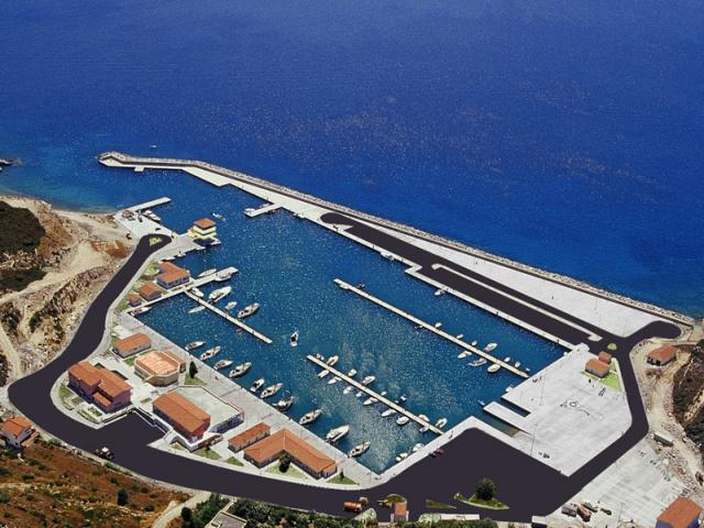 Pythagorion port in Samos island is the third in sequence charter base that Galazio Sailing operates for the Dodecanese complex & more specific for the North Dodecanese islands.