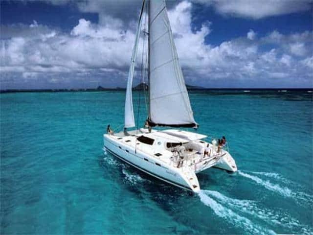 Nautitech 47 under sails!
