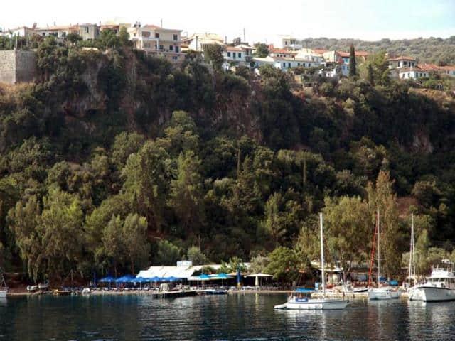 Porto Spilia in Meganissi island.