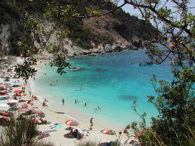 The island of Lefkada is reputed for the marvellous, long sandy beaches with crystal, clear waters.