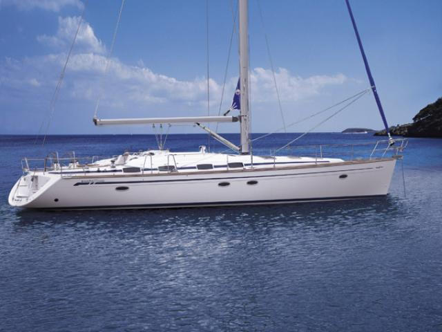 Bavaria 50 Cruiser on the anchor!
