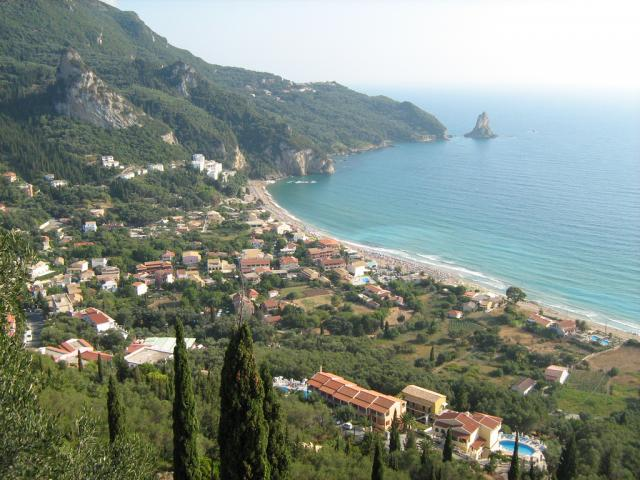 The island of Corfu has pebbly and sandy beaches characterised by a distinctive diversity.