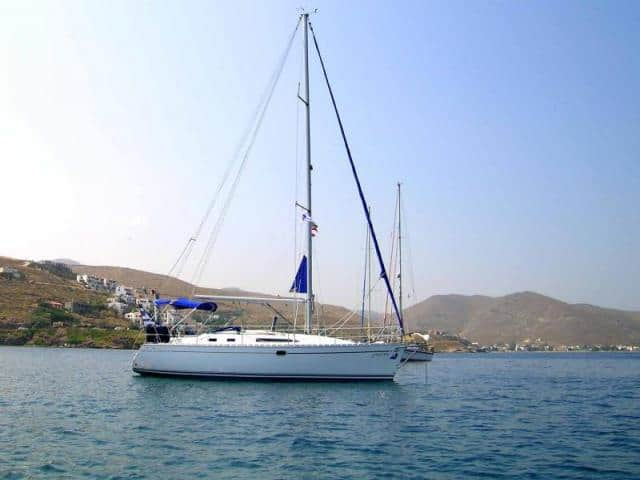 The best shelter anchorages, for sailing yachts, are located in the South coast of Mykonos.