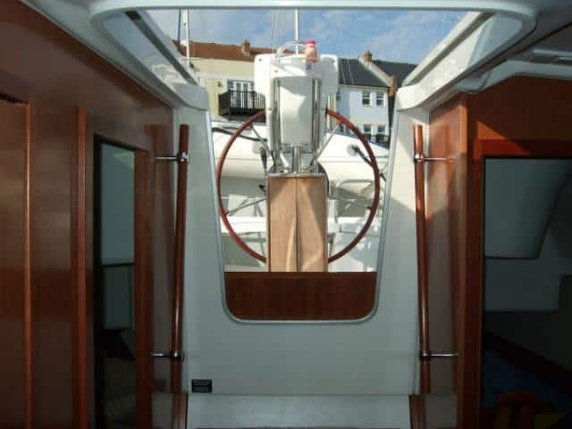 Beneteau Oceanis 343/ interior (ladder)