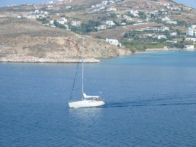 Yacht charter Paros island!