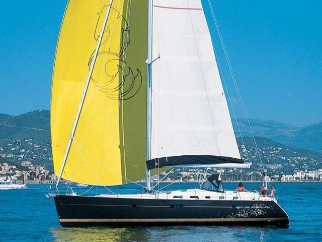 Beneteau Oceanis 523 while on sailing!