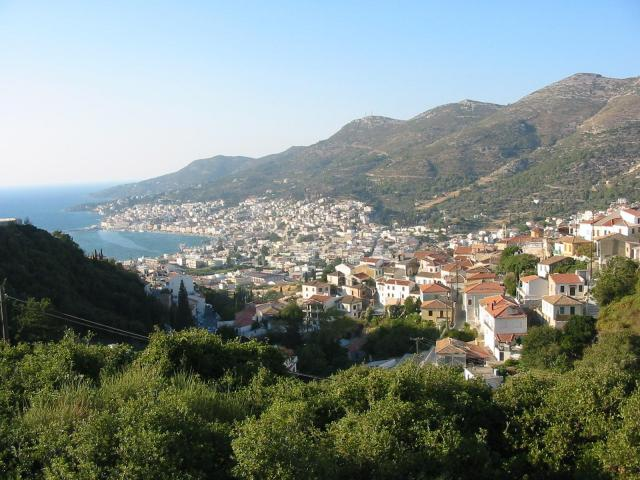 Samos (or Vathy) town, placed on the NE corner of Samos, is the island's capital and main ferry terminal.