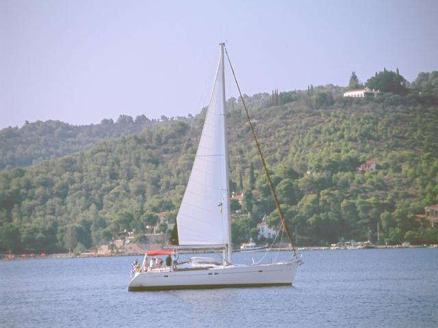 Sailing holidays in Spetses island, Saronic.