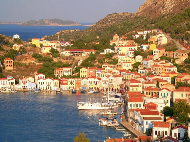Kastelorizo (or Megisti) is tiny but very beautiful island at the South Easternmost edge of the Dodecanese islands Greece.