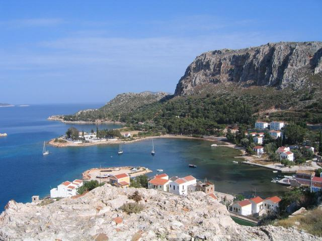 Here, you may view Agia Paraskevi village in Kastelorizo island.
