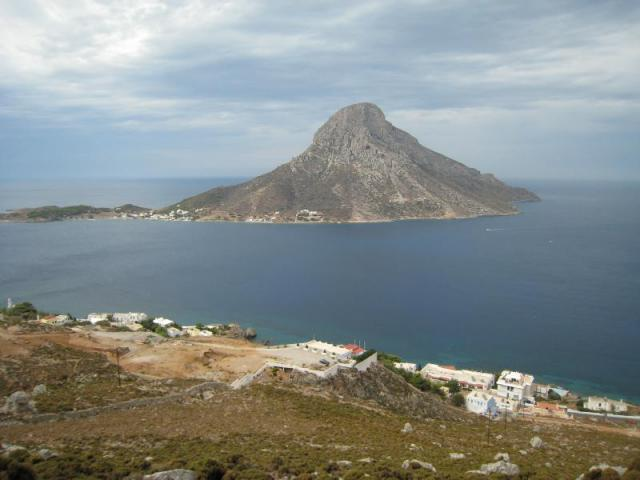 While you are sailing Kalymnos, don't forget to visit the island of Telendos and Pserimos for a swim and some fishing! Here, you may view Telendos island.