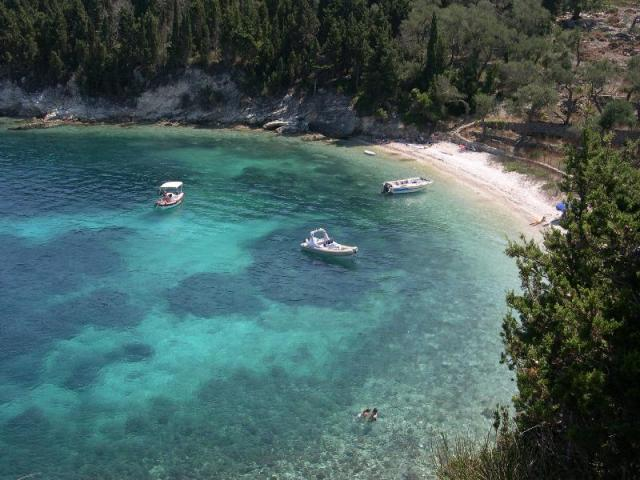 All beaches in Paxos are best accessible by boat and most of them can also be reached on foot!