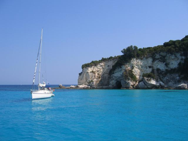 Relaxed sailing holiday in Paxos, Ionian islands.