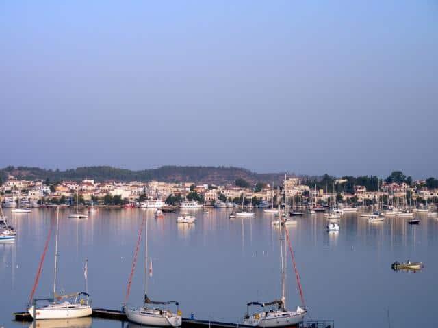 Τhe natural port of Porto Cheli, Argolic gulf Greece.