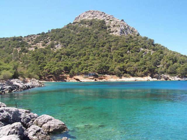The beautiful peninsula of Bisti, perfect for swimming!
