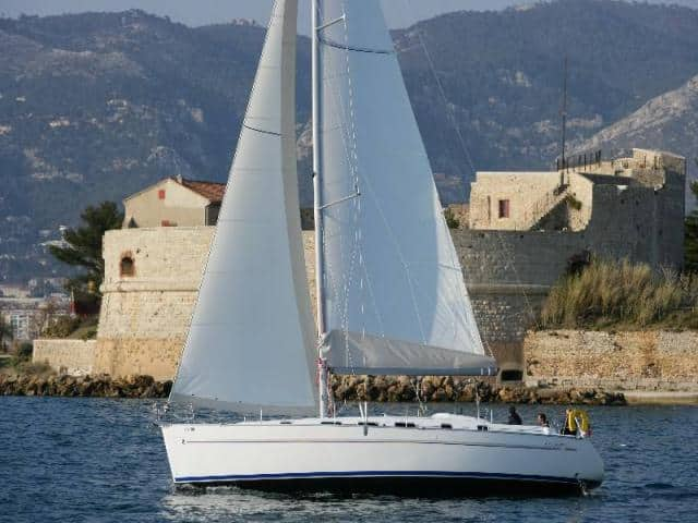 Beneteau Cyclades 43.4 on route