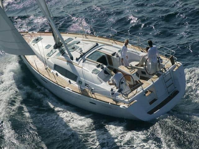 Beneteau Oceanis 46 on sailing!