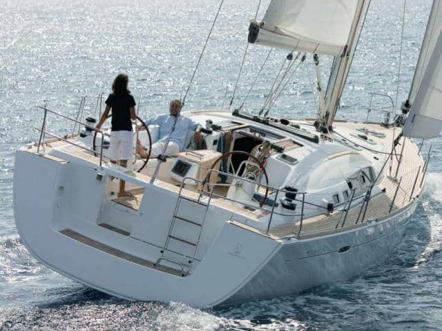 Beneteau Oceanis 54 while on sailing!