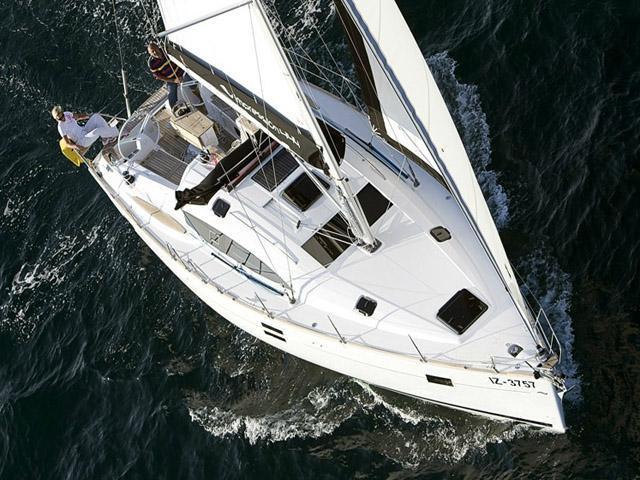 Elan Impression 444i while on sailing!