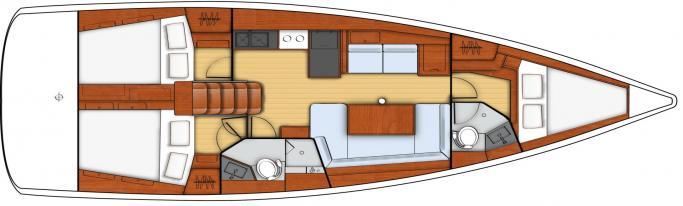 Beneteau Oceanis 41/ Layout