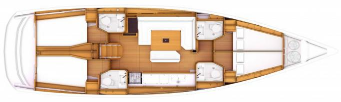 Jeanneau Sun Odyssey 469/ layout