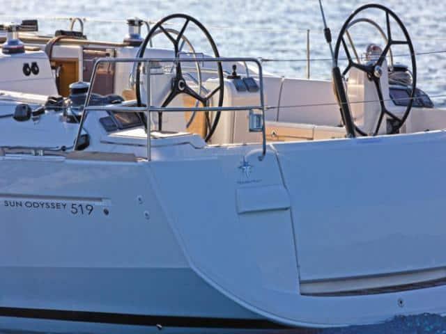Jeanneau Sun Odyssey 519/ deck