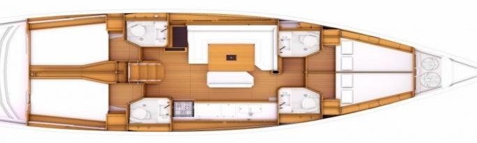 Jeanneau Sun Odyssey 479/ layout
