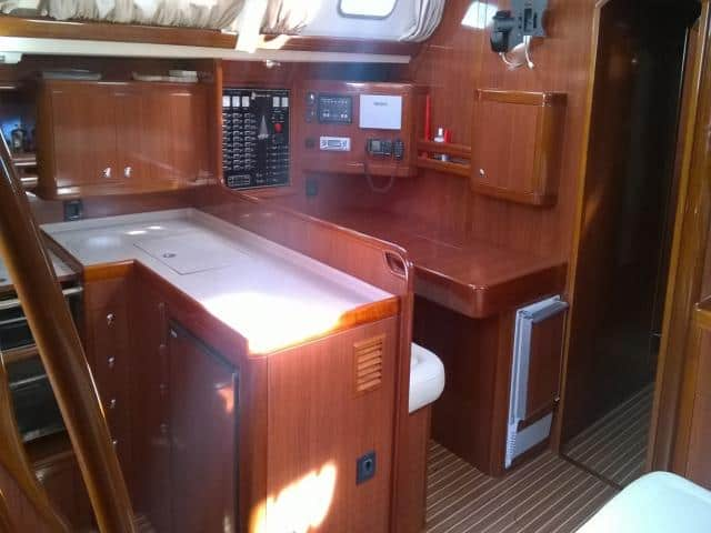 Ocean Star 56.1-6Cab/ Chart table & galley area